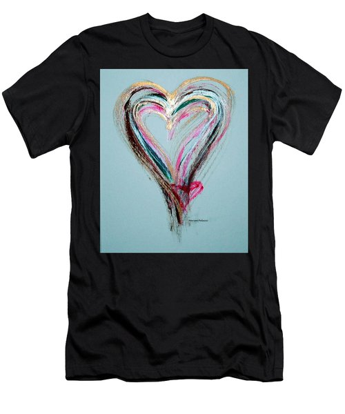 Loving Heart Men's T-Shirt (Athletic Fit)