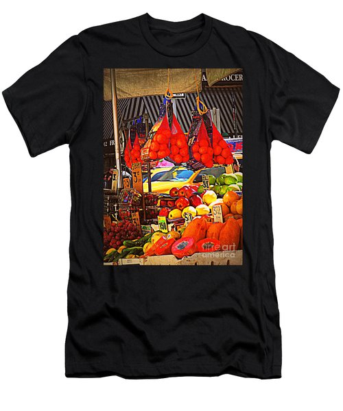 Men's T-Shirt (Slim Fit) featuring the photograph Low-hanging Fruit by Miriam Danar