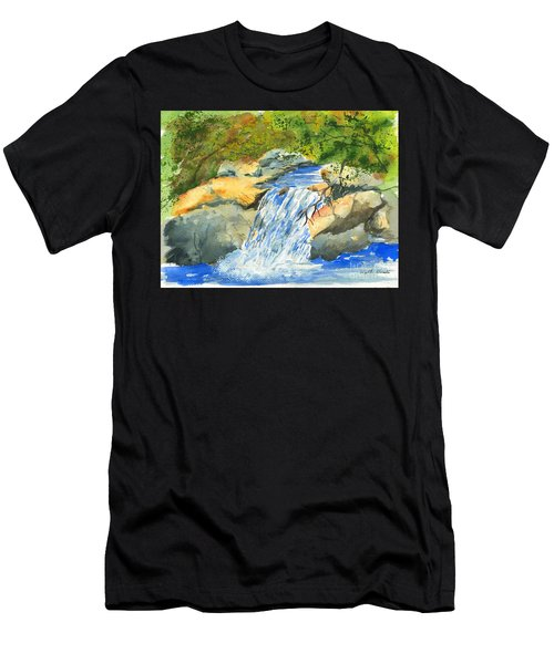 Lower Burch Creek Men's T-Shirt (Athletic Fit)