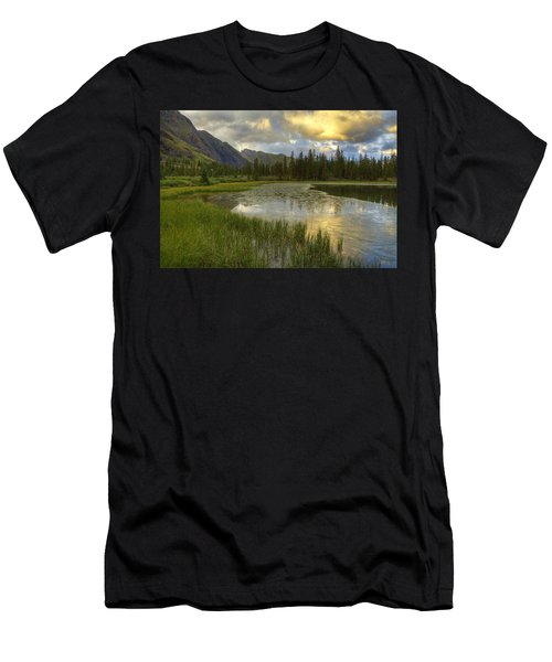 Lower Ice Lake Men's T-Shirt (Athletic Fit)