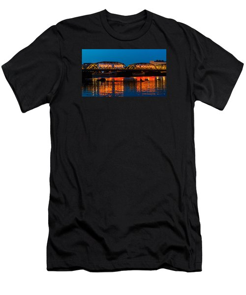 Lower Trenton Bridge Men's T-Shirt (Athletic Fit)