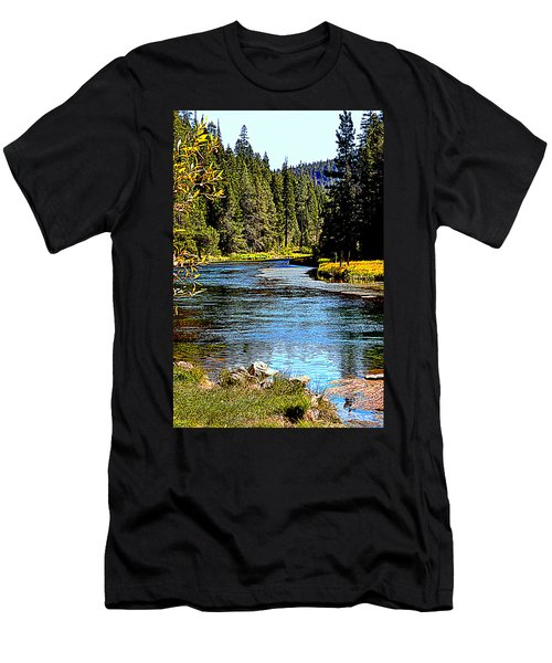 Lower Truckee River Men's T-Shirt (Athletic Fit)