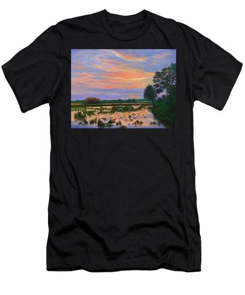 Loxahatchee Sunset Men's T-Shirt (Athletic Fit)