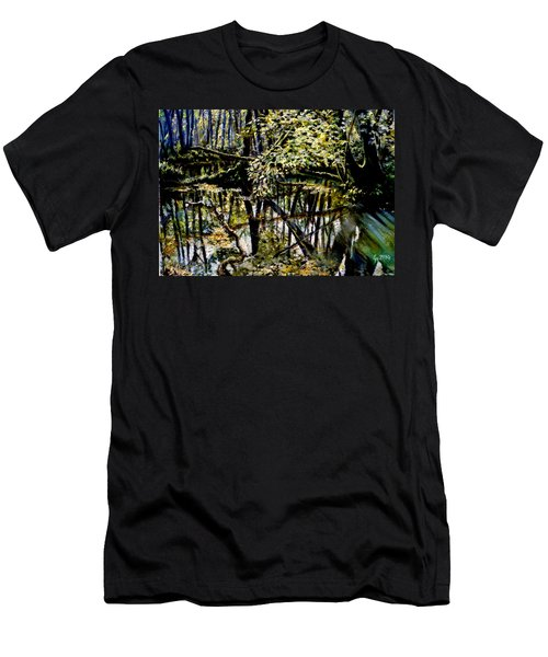 Lubianka-4 Mystery Of Swamp Forest Men's T-Shirt (Athletic Fit)