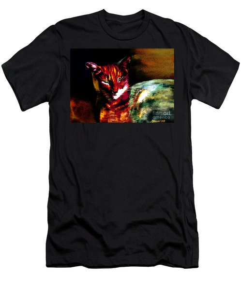 Lucifer Sam Tiger Cat Men's T-Shirt (Athletic Fit)