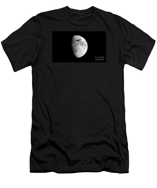 Men's T-Shirt (Slim Fit) featuring the photograph Lucky Shot by Janice Westerberg