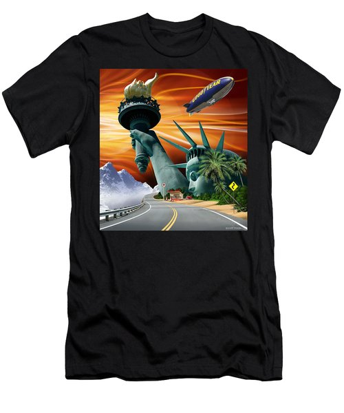 Lucky Star Men's T-Shirt (Athletic Fit)