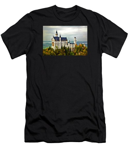 Neuschwanstein Castle In Bavaria Germany Men's T-Shirt (Athletic Fit)