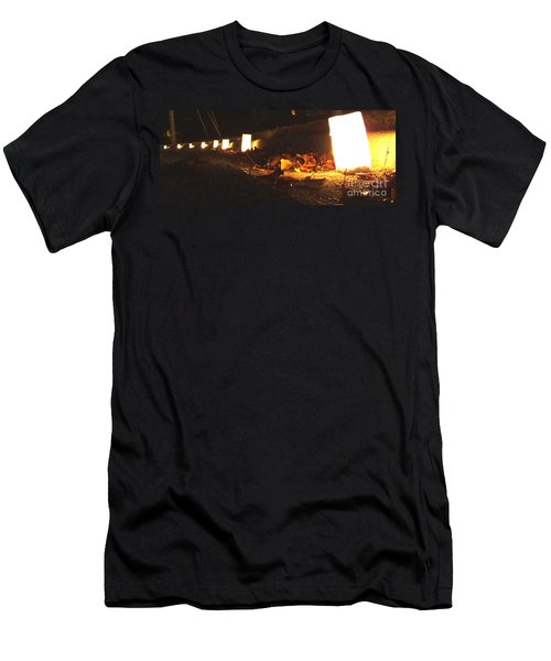 Men's T-Shirt (Slim Fit) featuring the photograph Luminaries by Andrea Anderegg