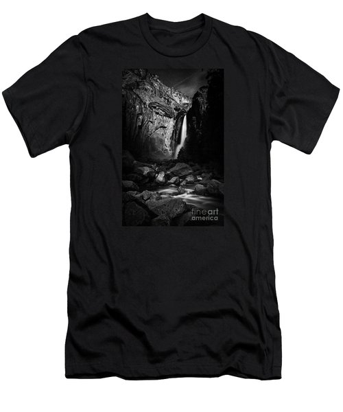 Lunar Glow Men's T-Shirt (Athletic Fit)