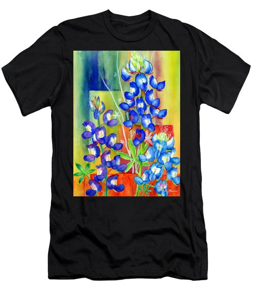 Lupinus Texensis Men's T-Shirt (Athletic Fit)