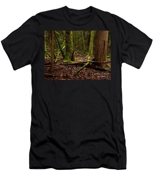 Lush Green Forest Men's T-Shirt (Athletic Fit)