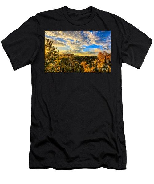 Lutsen Sunset Men's T-Shirt (Athletic Fit)