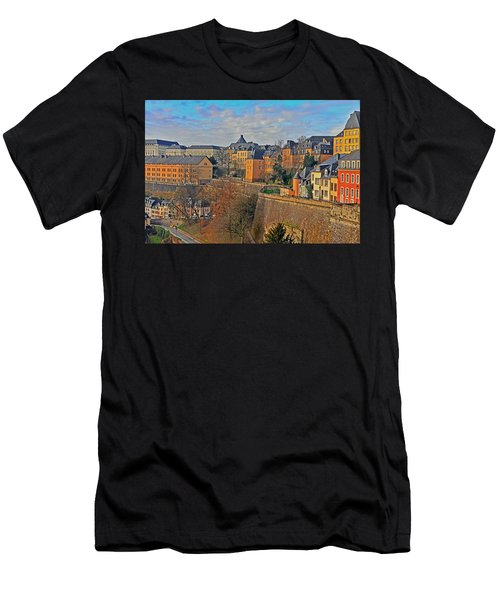Luxembourg Fortification Men's T-Shirt (Athletic Fit)