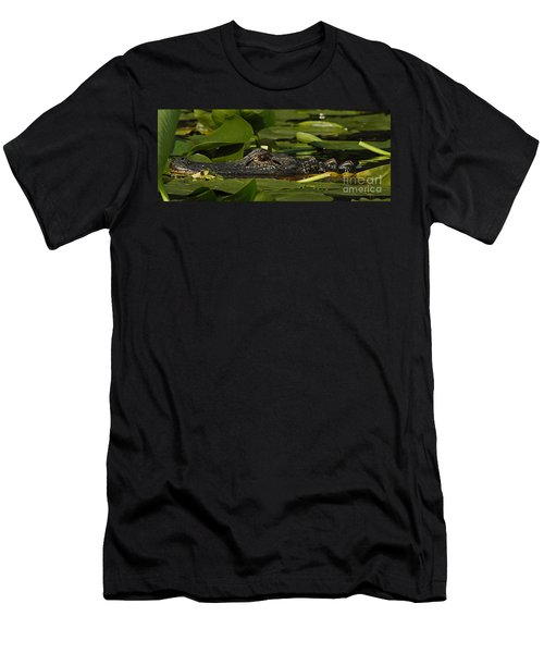 Lying In Wait Men's T-Shirt (Slim Fit) by Vivian Christopher