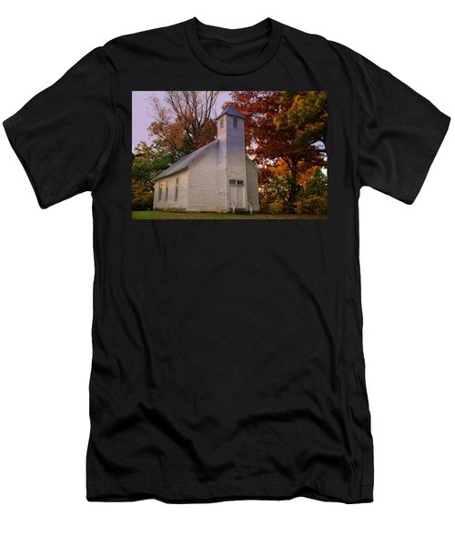 Macedonia Missionary Baptist Church Men's T-Shirt (Slim Fit) by Chris Flees