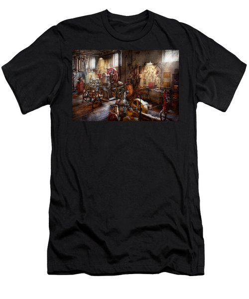Machinist - A Room Full Of Memories  Men's T-Shirt (Athletic Fit)