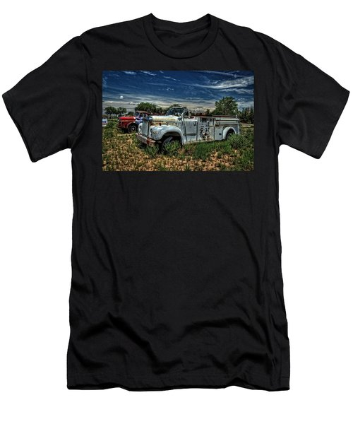 Men's T-Shirt (Slim Fit) featuring the photograph Mack Fire Truck by Ken Smith