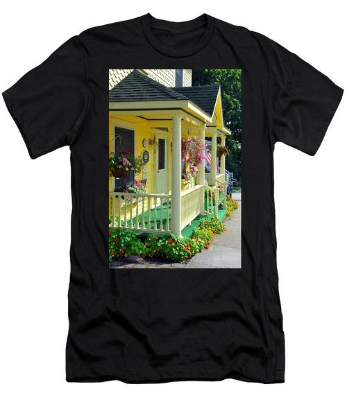Mackinac Island Americana Men's T-Shirt (Athletic Fit)