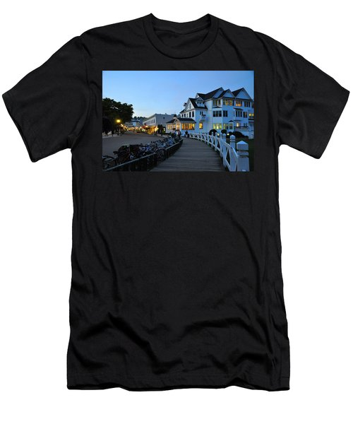 Mackinac Island At Dusk Men's T-Shirt (Athletic Fit)
