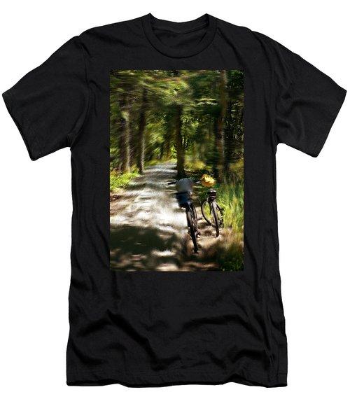 Mackinac Island Woods Men's T-Shirt (Athletic Fit)