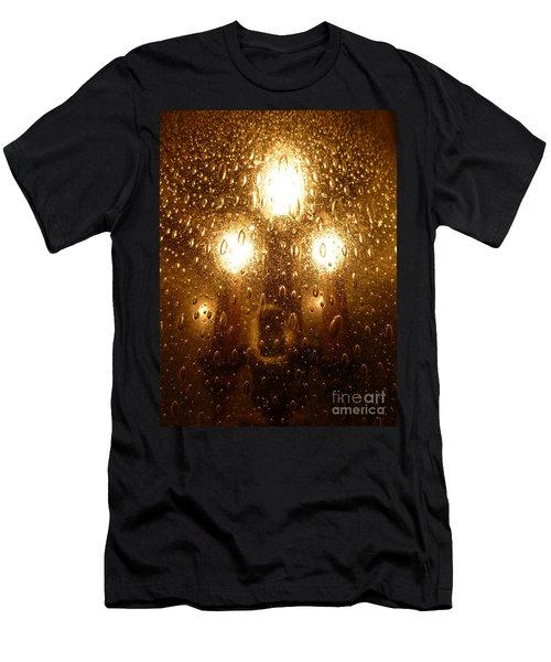 Macro Lights Men's T-Shirt (Athletic Fit)