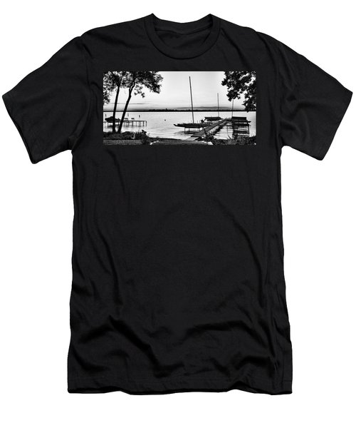 Madison Capitol Across Lake Monona Men's T-Shirt (Athletic Fit)