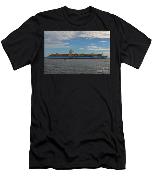 Ocean Going Freighter Men's T-Shirt (Athletic Fit)