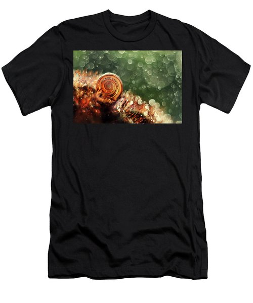 Men's T-Shirt (Athletic Fit) featuring the photograph Magic Forest by Jaroslaw Blaminsky