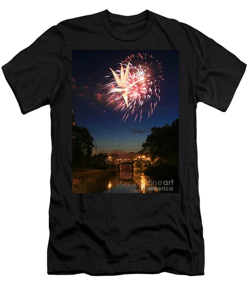 Magic In The Sky Men's T-Shirt (Slim Fit) by Paula Guttilla