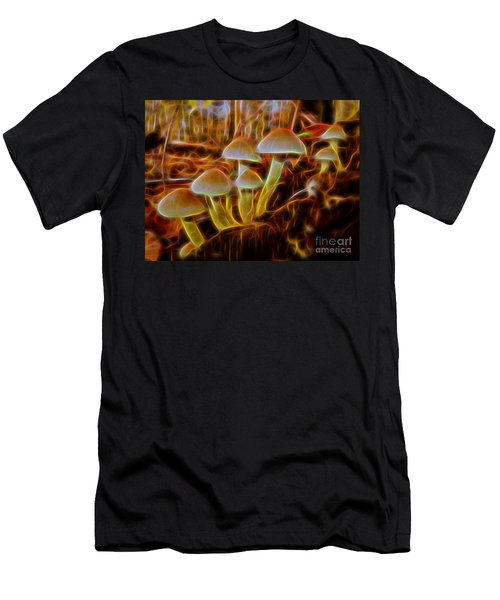 Magic Mushroom-3 Men's T-Shirt (Athletic Fit)