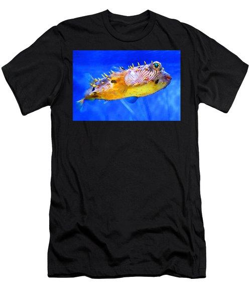 Magic Puffer - Fish Art By Sharon Cummings Men's T-Shirt (Athletic Fit)
