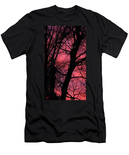 Magic Sunset  Men's T-Shirt (Athletic Fit)