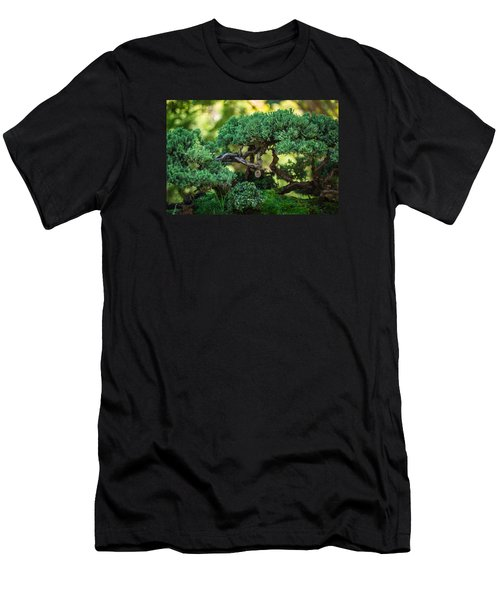 Men's T-Shirt (Athletic Fit) featuring the photograph Magical Bonsai by Julie Andel