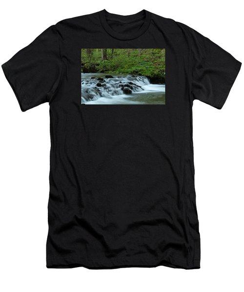 Magical River Men's T-Shirt (Slim Fit) by Julie Andel