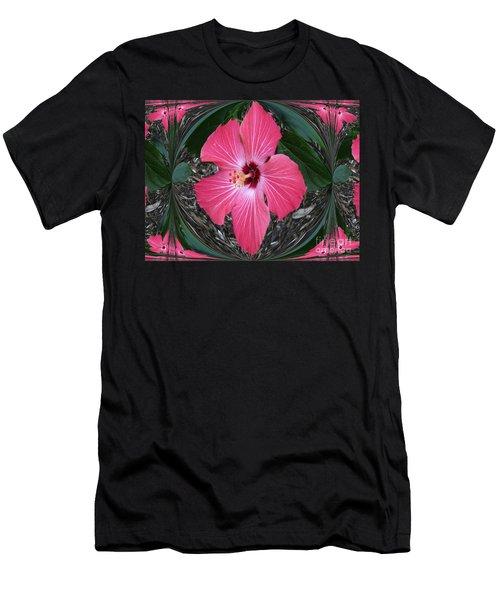 Magnificent Flower Men's T-Shirt (Slim Fit) by Oksana Semenchenko