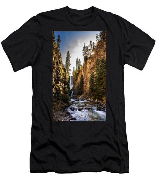 Magnificent  Mystic Falls  Men's T-Shirt (Slim Fit) by Steven Reed