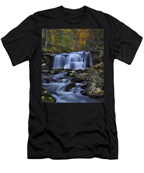 Magnificent Waterfall Men's T-Shirt (Athletic Fit)