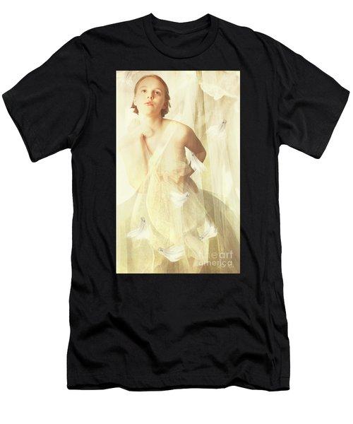 Magnolia Belle Men's T-Shirt (Athletic Fit)