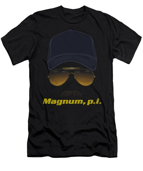 Magnum Pi - Geared Up Men's T-Shirt (Athletic Fit)