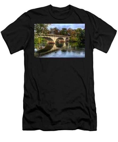 Main St Bridge Men's T-Shirt (Athletic Fit)