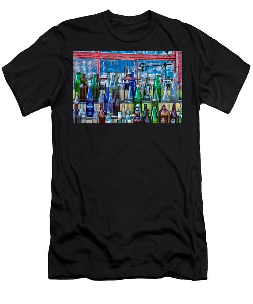 Maine Bottle Collector Men's T-Shirt (Athletic Fit)