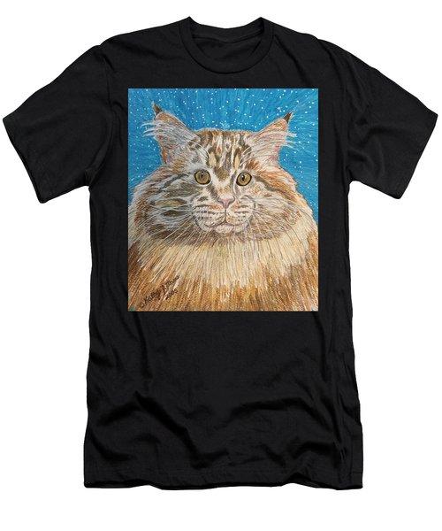 Maine Coon Cat Men's T-Shirt (Athletic Fit)