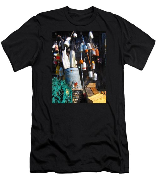 Maine Wall Art Men's T-Shirt (Athletic Fit)