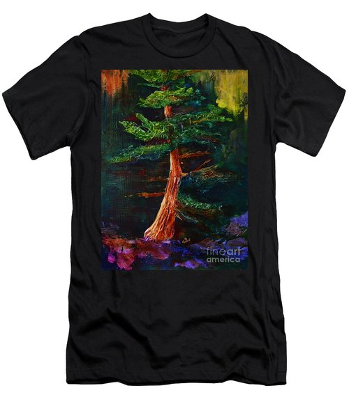 Majestic Pine Men's T-Shirt (Athletic Fit)