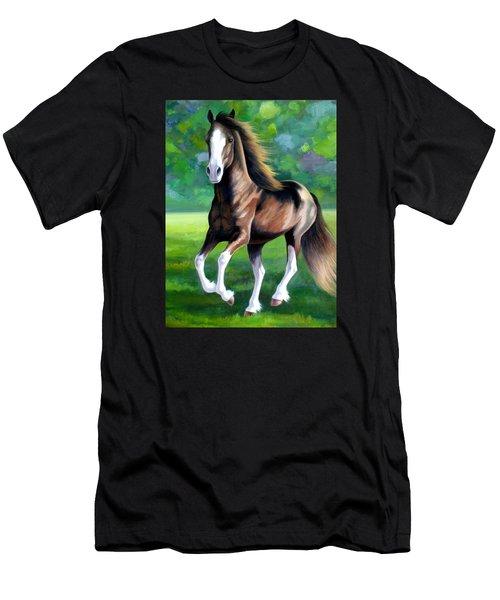 Majestic Men's T-Shirt (Slim Fit) by Vivien Rhyan