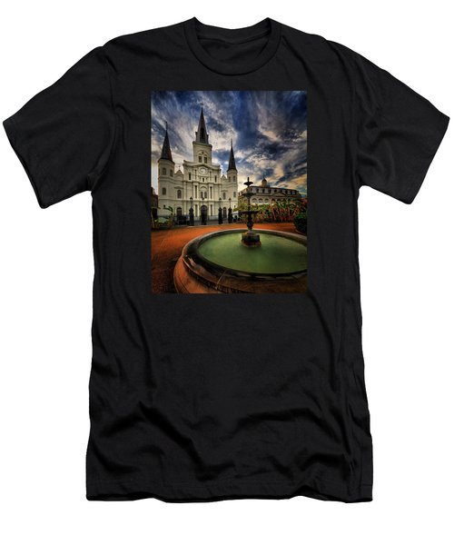 Men's T-Shirt (Slim Fit) featuring the photograph Make A Wish by Robert McCubbin