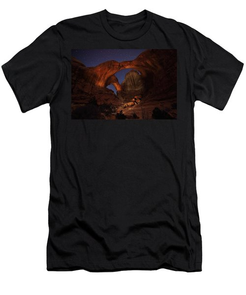 Men's T-Shirt (Slim Fit) featuring the photograph Make It A Double by David Andersen