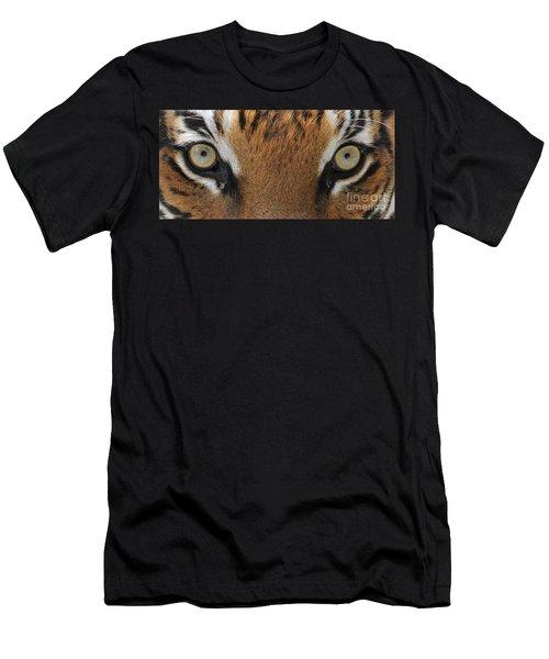 Malayan Tiger Eyes Men's T-Shirt (Athletic Fit)