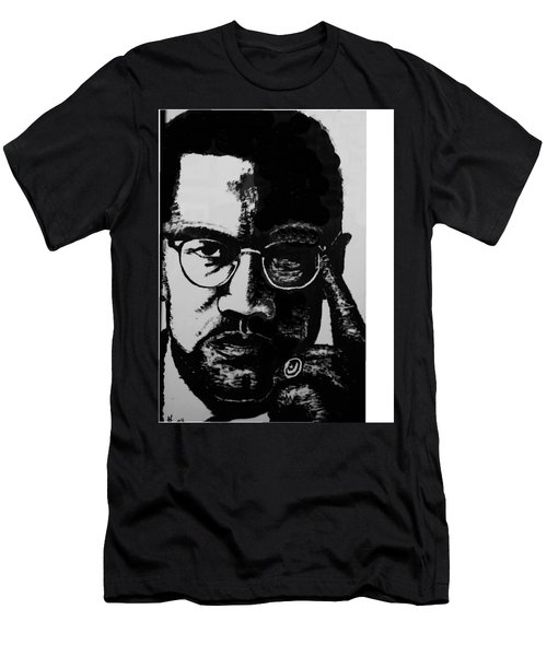 Malcom X Men's T-Shirt (Athletic Fit)
